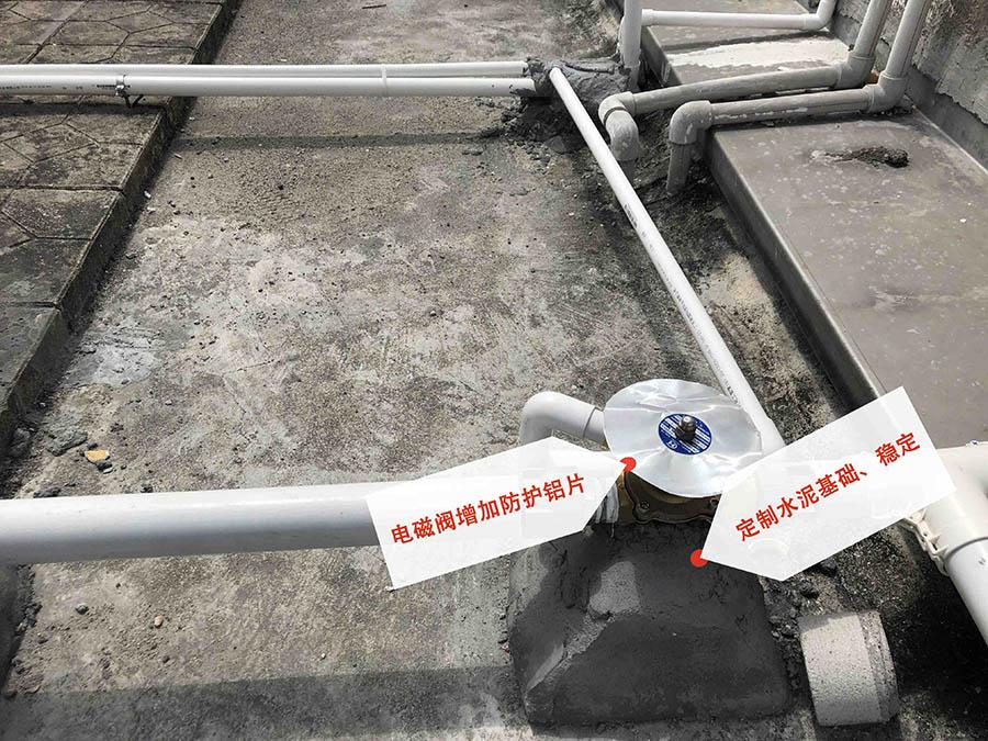 工厂宿舍热水工程