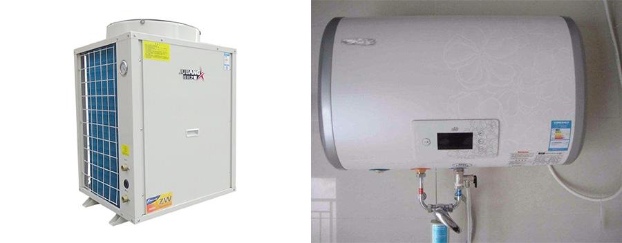 空气能对比电热水器耗电量
