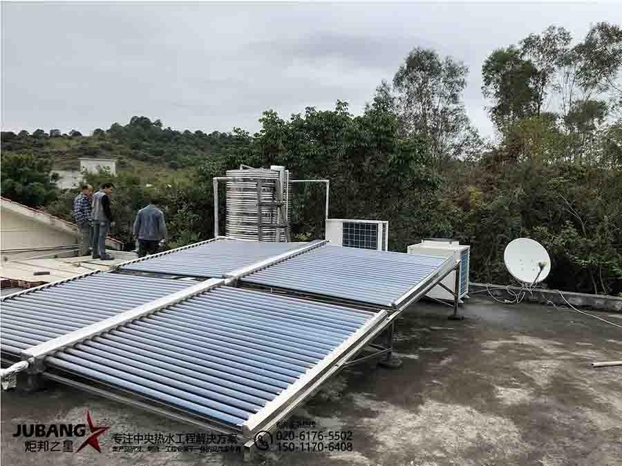 广州白云区别墅热水工程