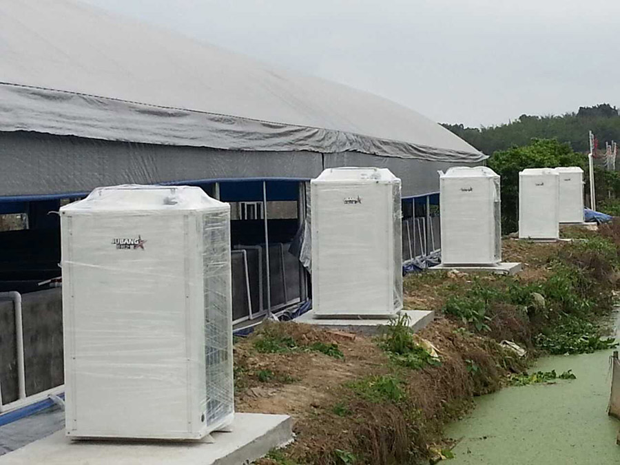 江门鹤山市猛龙养殖厂I恒温热水工程