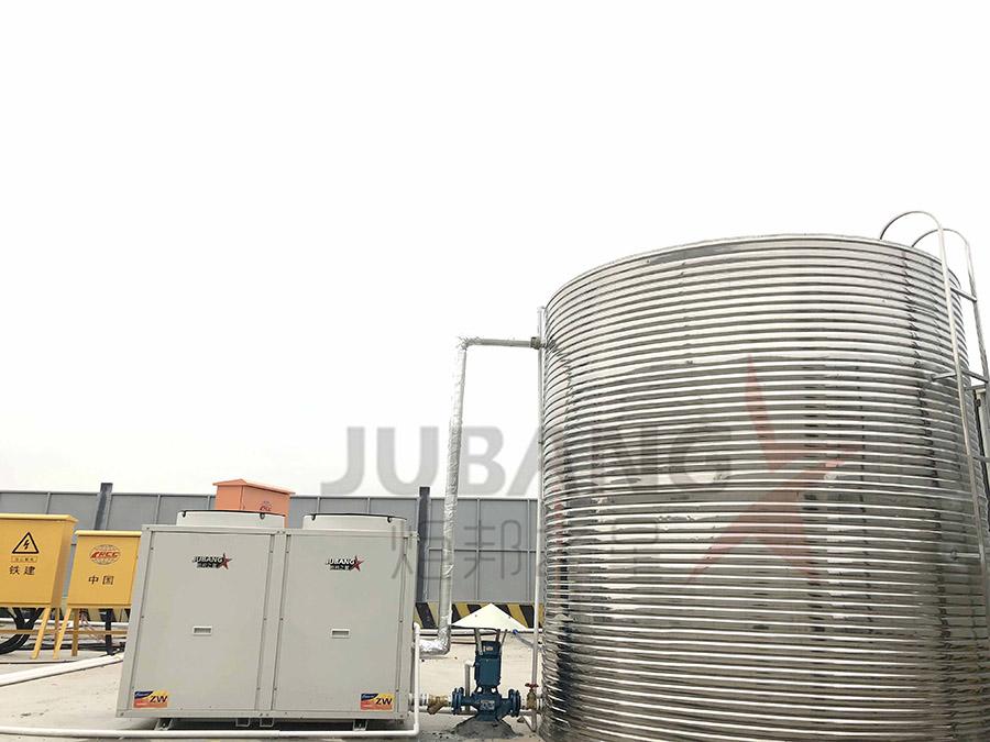 广州南沙工地热水工程