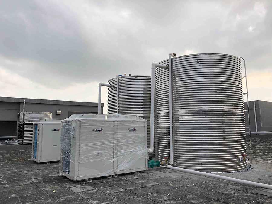 高温式空气能热水工程